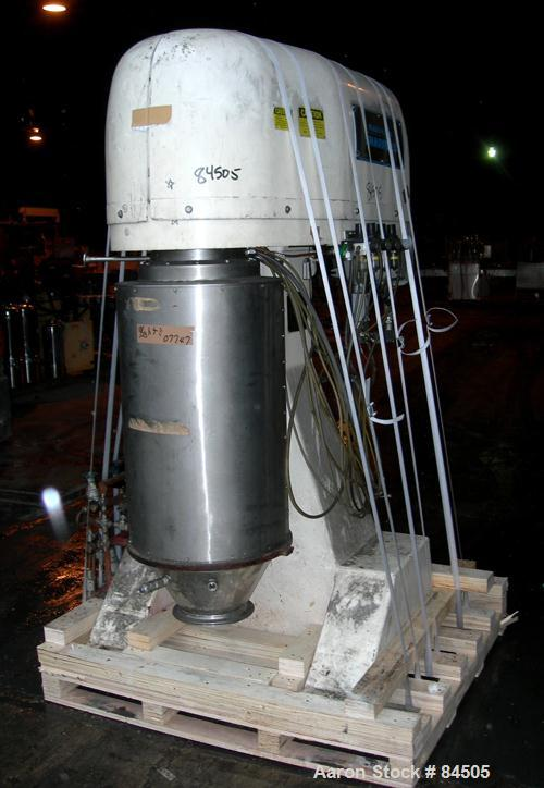 Used- Stainless Steel Sharples Super Helix Centrifuge, SP-725