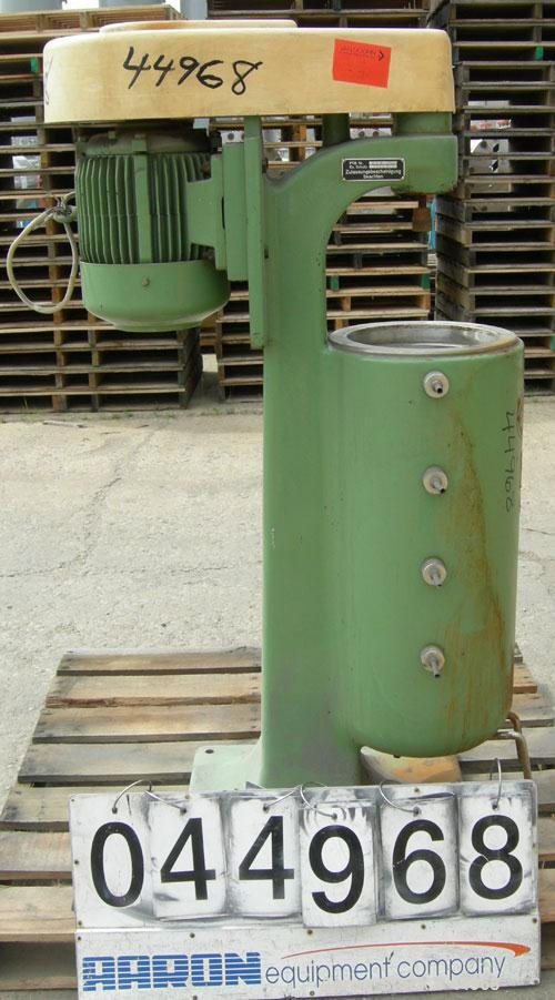 Used- Carl Padberg Super Centrifuge, Type 61H. No bowl. Driven by a 1.5 kW, 3/50/220/380 volt, 2916 rpm drive motor. No cont...