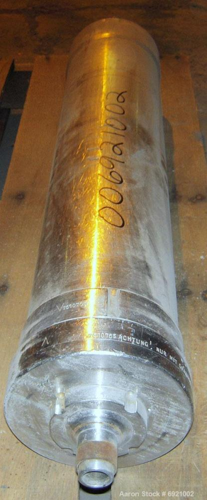 Used- Stainless Steel Carl Padberg Super Centrifuge Bowl Assembly