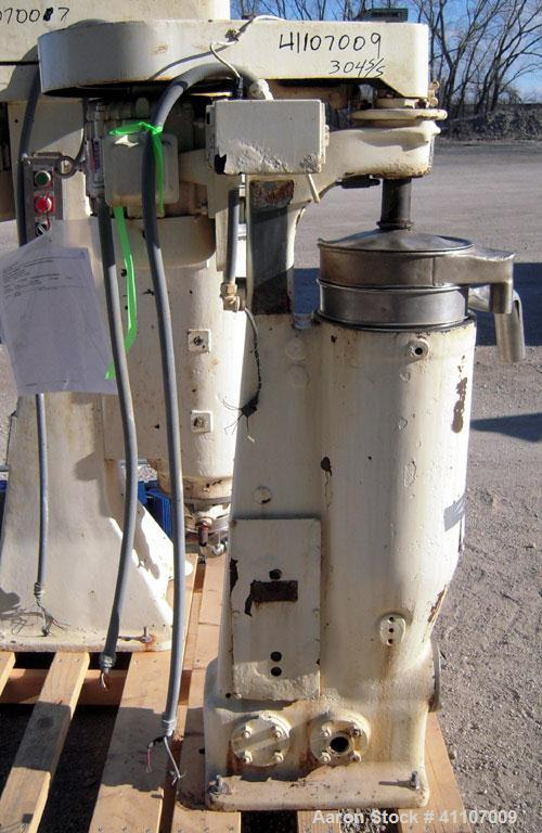 Used- Stainless Steel Sharples Centrifuge