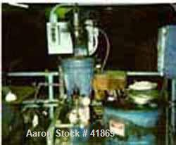 USED: Sharples AS-16 Super Centrifuge, 316 stainless steel, clarifier design, 1.5 hp drive motor 230/460/3/60/3460 rpm, star...