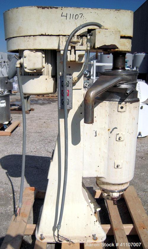 Used-Sharples AS-26 Centrifuge, 17-4 PH.  15,000 RPM max bowl speed.  Driven by a 5 HP, 3/60/220/440 Volt, 3500 RPM.