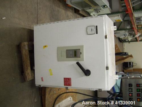 Used-Sharples AS-26VB aseptic biological super centrifuge, 316 stainless steel construction. Max bowl speed 17000 rpm, 20000...