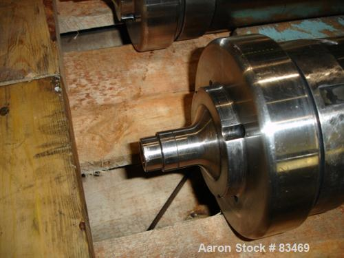 Used- Stainless Steel Sharples Super Centrifuge Bowl Assembly
