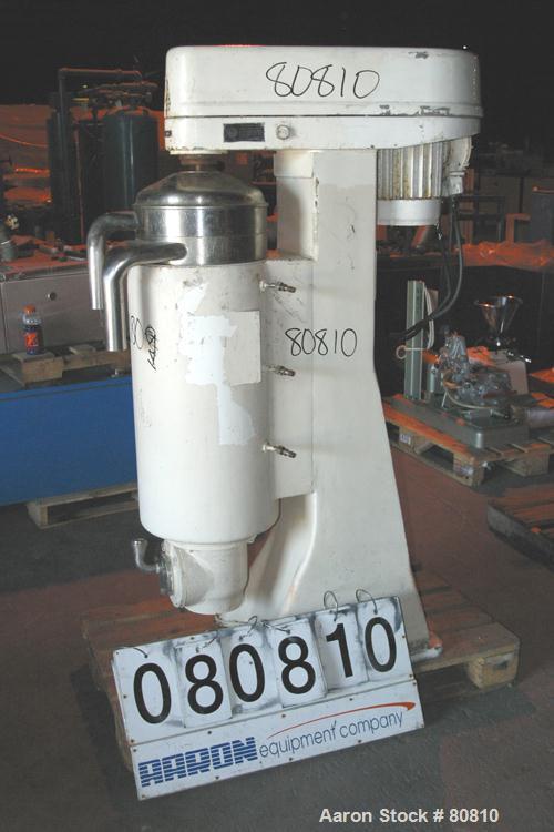 "Used- Sharples ""Swivel Head"" Super Centrifuge, MV-AS26RR-1JCY"