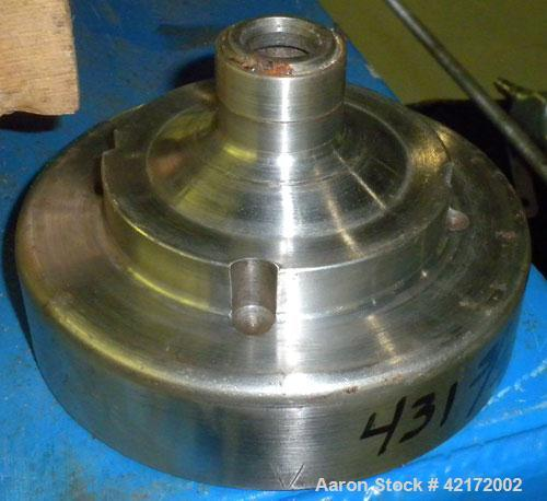Used- Sharples AE-16 Pressuretite Super Centrifuge, stainless steel bowl assembly, max bowl speed 15000 rpm, ring dam separa...