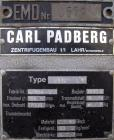 Used- Stainless Steel Carl Padberg High Speed Centrifuge, Type 61G