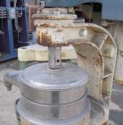 Used- Sharples AS-16 Frame With Heating/Cooling Coils. No bowl. Includes bowl covers, 13-8 PH stainless steel top cover.  Dr...