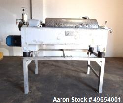 Used-Flottweg Z4D-3/401 Tricanter Solid Bowl Decanter Centrifuge. Max bowl speed 4000 rpm, three phase separation (liquid/li...