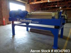 Used- Flottweg Z53-4/464 Tricanter Solid Bowl Decanter Centrifuge.