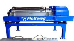 Used- Flottweg Z53-4/464 Tricanter Solid Bowl Decanter Centrifuge.
