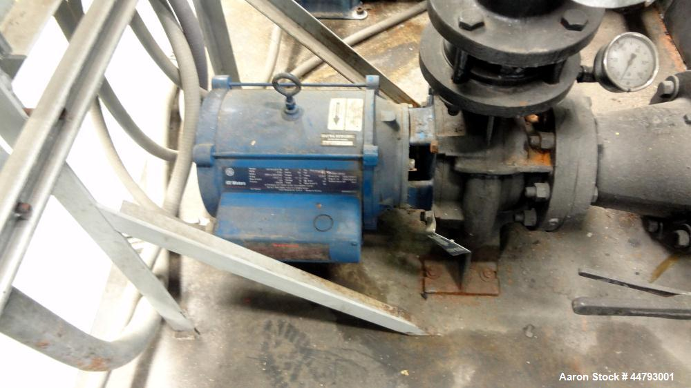 Used- Advantage Engineering WPT Series Water Cooled Chiller, Model CC-60WPT-40SRX. Cooling capacity 60 tons. Temperature ran...