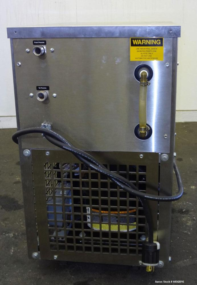 Used- Advantage Air Cooled Portable Water Chiller, 0.75 Tons, Model M1-.75A. 1/60/115 Volt. Built 2008.