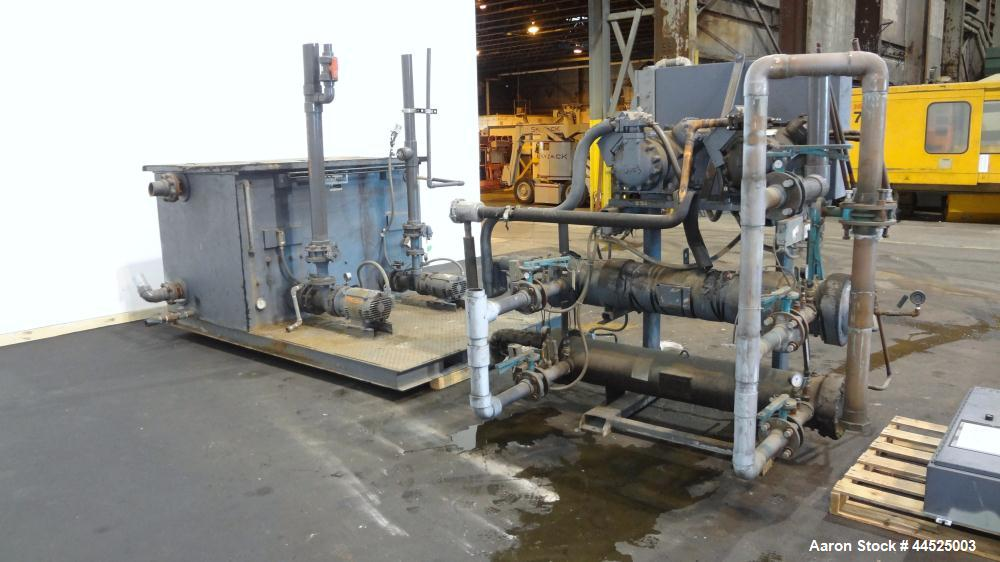 Used- Series Air Cooled Central Chiller, Model NECR-2-40