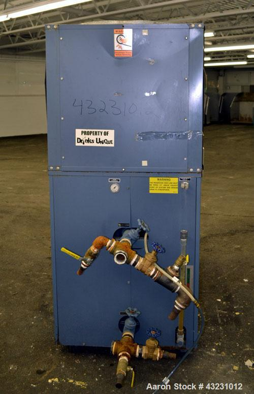 Used- AEC Glacier Series Air Cooled Portable Chiller, Model NXGA-15. Cooling capacity 13.5 tons, chilled water 36 gallons pe...