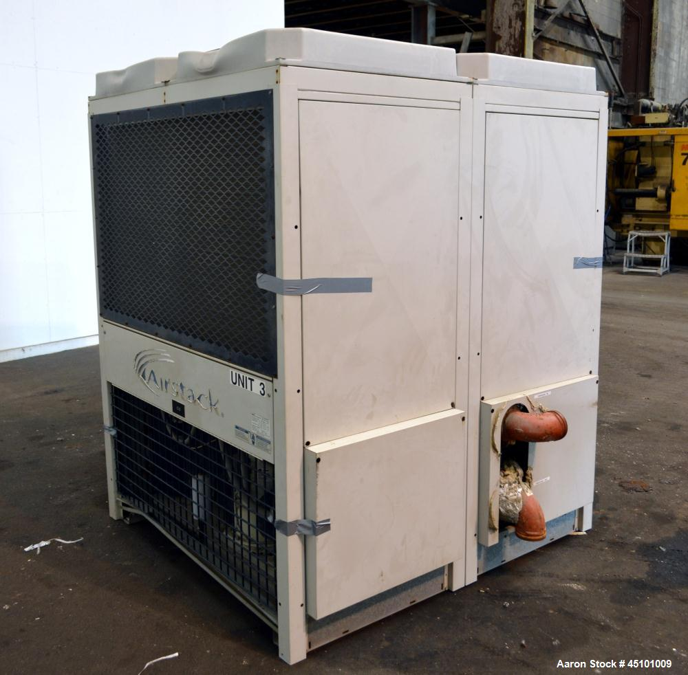 Used- Multistack Airstack Air Cooled Packaged Chiller System 45 Total Tons, Consisting Of: (3) Model ASP15A chillers, each 1...