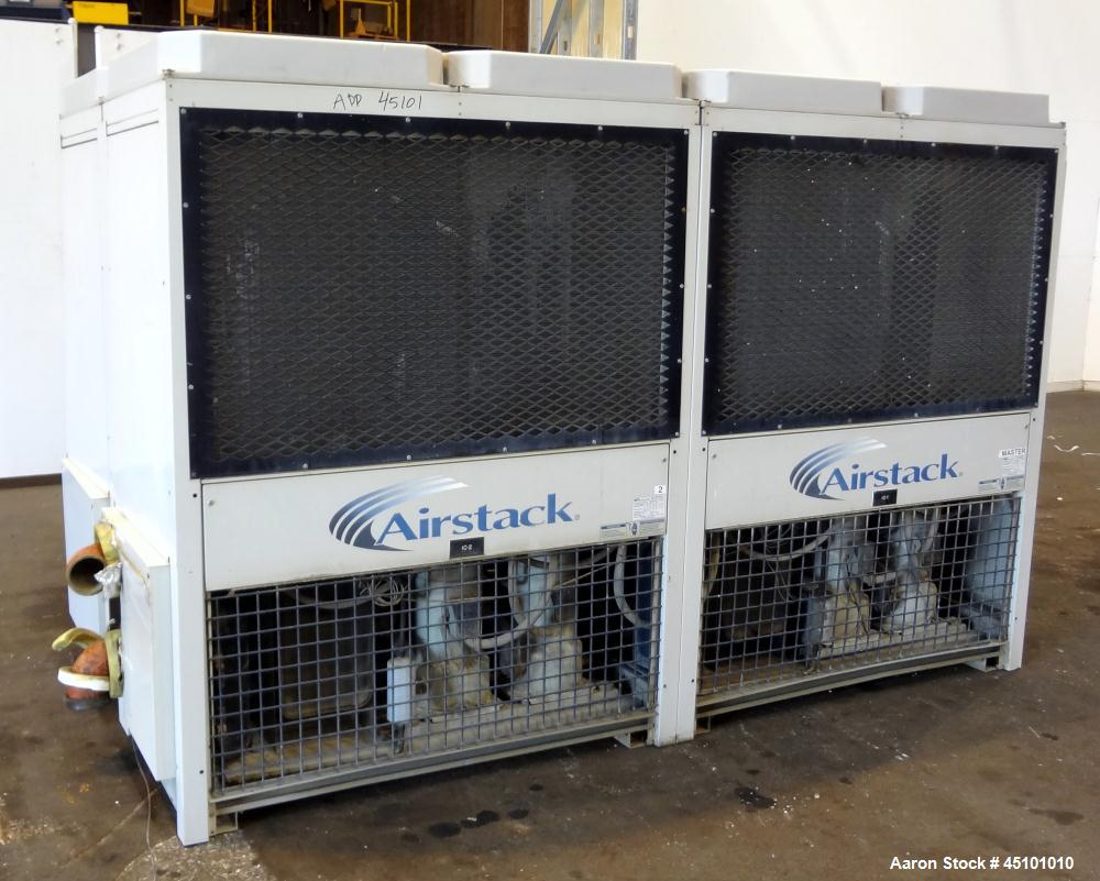 Used- Multistack Airstack Air Cooled Packaged Chiller System 60 Total Tons, Consisting Of: (4) Model ASP15A chillers, each 1...