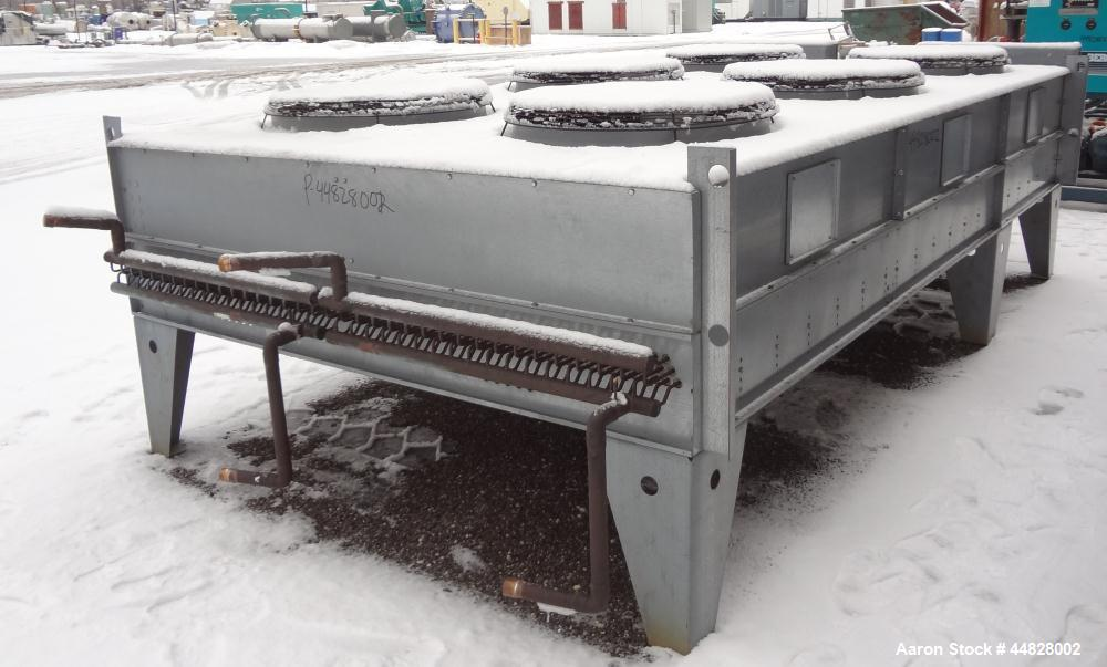 Used- Berg Chilling Systems Air Cooled Chiller Package, 48.5 Ton Cooling, Capacity, Model ASR-60-2/1. Consists of: (2) Copel...