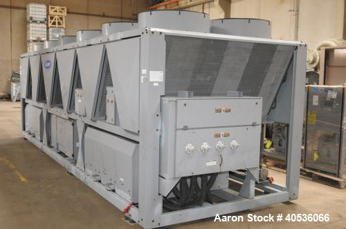 Used- Carrier Air Cooled Screw Chiller, Model 30XAA1807F02X03.