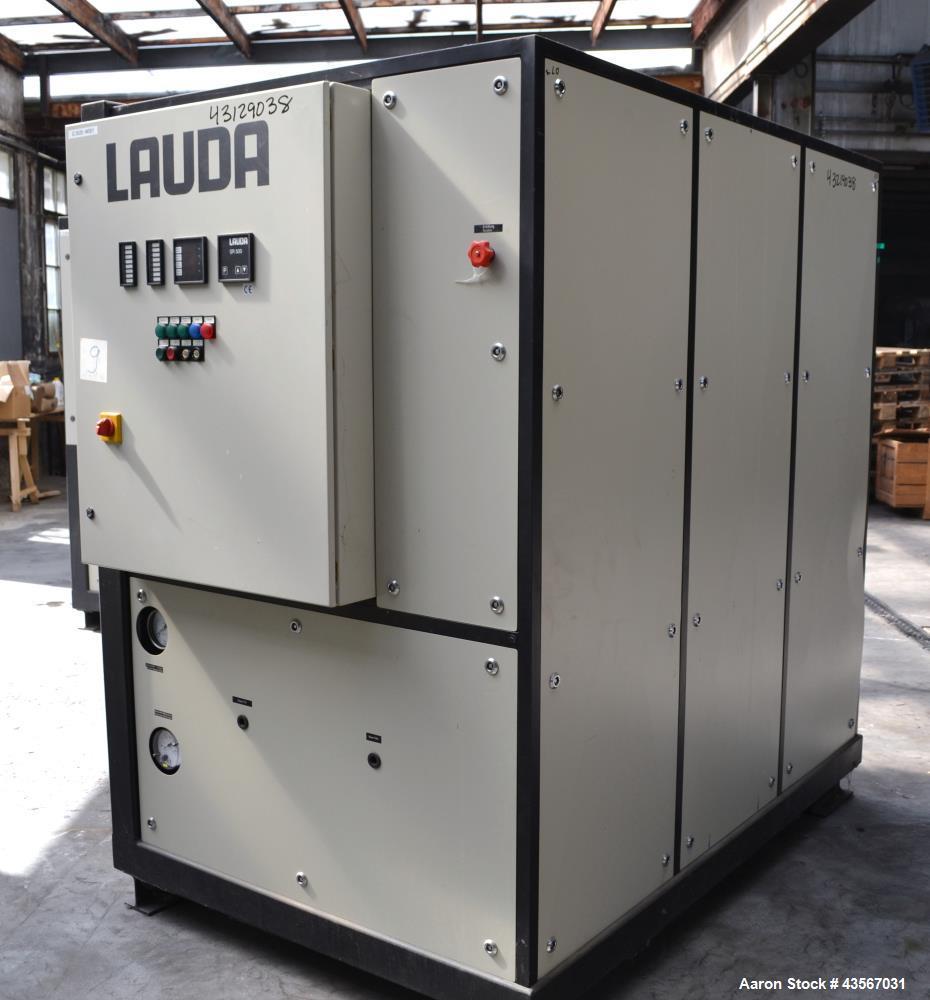 Used- Lauda 56kW Secondary Circle Unit Cooler, Type SUK400WII. Temperature range -50 to 200 degrees C. (-58 to 392 F.). 3/50...
