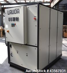 Used- Lauda 56kW Secondary Circle Unit Cooler, Type SUK400WII. Temperature range -50 to 200 degrees C. (-58 to 392 F.). 3/50...