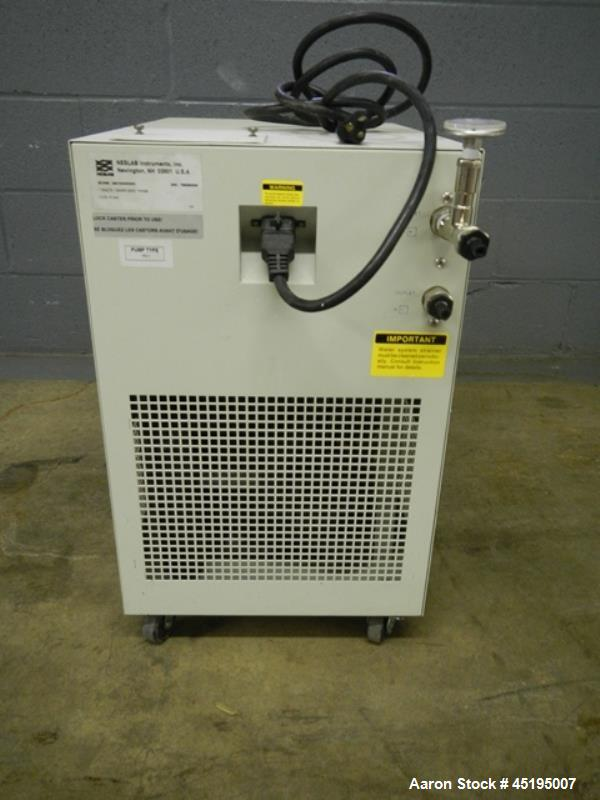 Used- Neslab Air Cooled Refrigerated Chiller, Model CFT-33.  Approximately 0.27 ton, R134A refrigerant, 40 degree F minimum ...