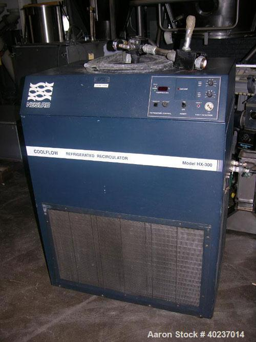 Used- Neslab Chiller, 3 tons, model HX-300. Air cooled with pump. R22 refrigerant, 480 volt.