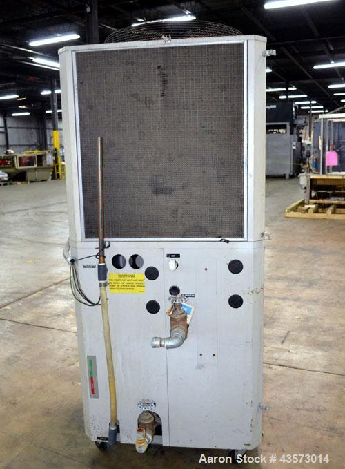 Used- AEC Model PSA-7.5 Air Cooled Portable Chiller. Cooling capacity 6.6 tons. Temperature range 30-65 degrees F. 11-1/2 Po...