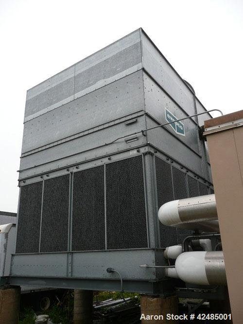 Used-Trane Horizon 600 Ton Absorption Series Single Stage Absorption Liquid Chiller, model ABSD600. 3/60/480V. Max inlet 150...