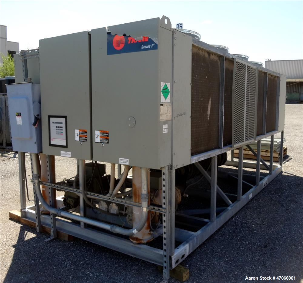Used- Trane R Series Air Cooled Rotary Liquid Chiller