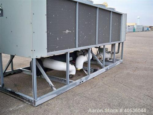 Used-Trane 100 Nominal Ton Air Cooled Screw Chiller. Trane model RTAA1004YH01A3DOF. Designed for 460/3/60 volt operation. Ye...