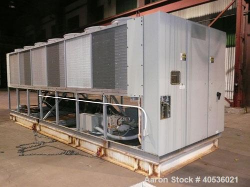 Used-Trane 200 ton, model RTAA2004. Screw compressors, 460/3/60 volts. With only 2,863 run hours since new. Great unit for s...