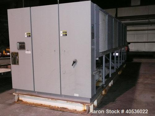 Used-Trane 200 ton, model RTAA2004. Screw compressors, 460/3/60 volts. With only 4,212 run hours since new. Great unit for s...