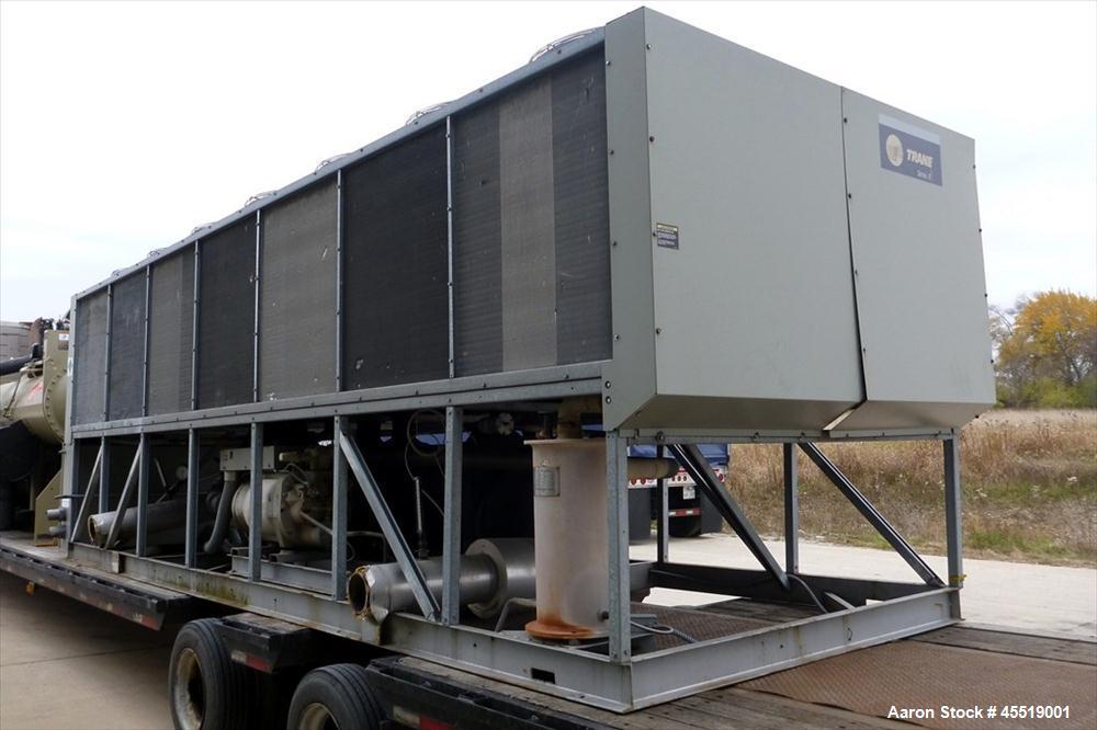 Used- Trane Air Cooled Screw Chiller, Model RTAC2254UB0NUAFNNINYITDCNN0EN10NR0EX