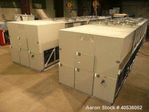 Used-Trane Air Cooled Screw Chiller, Model RTAC300.  Less than 6,000 hours.