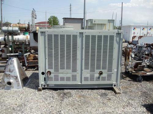 Used- Trane Chiller, 20 Ton, Model CGADC204ADA1FTWHR. Air cooled, 460 volt, R-22 refrigerant, 450 psi design pressure, seria...
