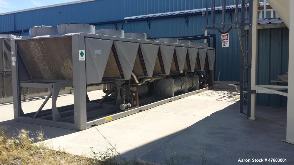 Used- AEC/Carrier Chiller, Model 30XAA2606N-02R-3 Air Cooled, Screw Compressor.