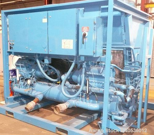 Used-York 60 ton, model YCAZ44BA3. Reciprocating compressors, 460/3/60 volts.