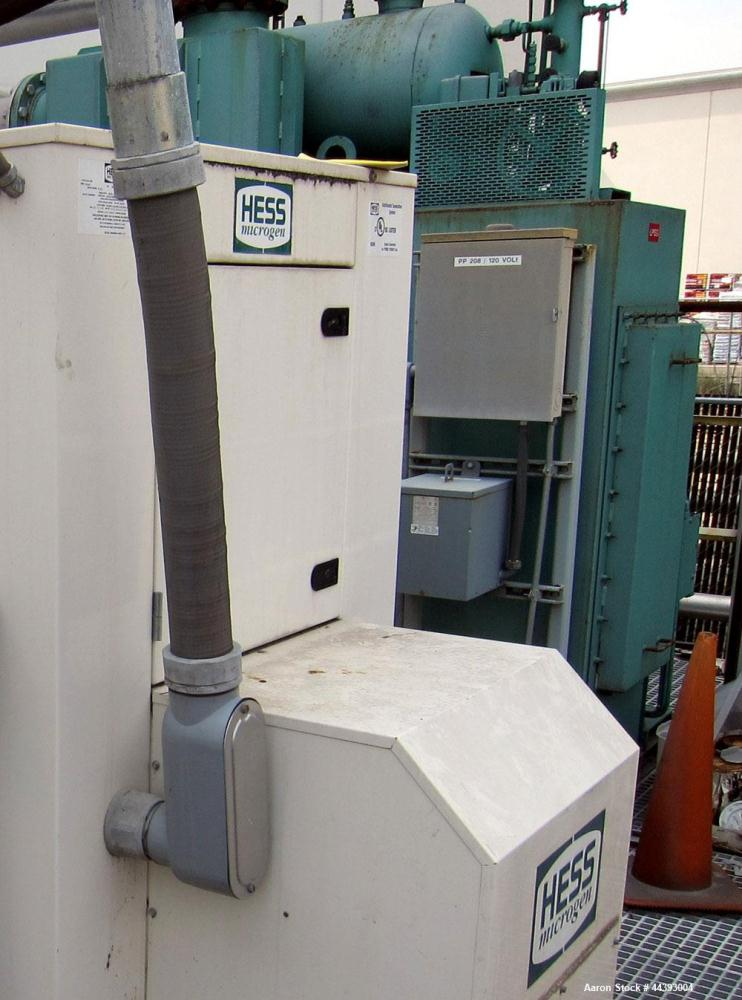 Used-Cain Heat recovery boiler, model ESG1-816817CSS, designed to use generator exhaust to produce 15 psi steam @ 1476 #/hr....