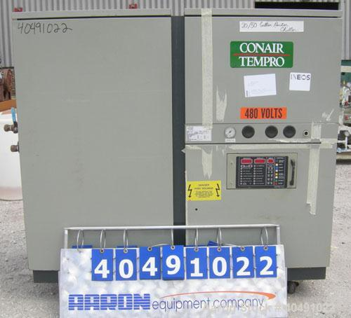 Used- Conair Tempro chiller, model WC3-3, approximately 3.9 tons. Water cooled. Temperature range 20 to 65 deg F. Includes M...