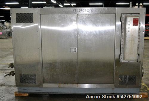 Used- Kool Oil Chiller, Model 40HPAC, Approximate 40 Tons. R-134A refrigerant. 40hp, 3/60/230/460 volt, 1750 rpm XP motor.