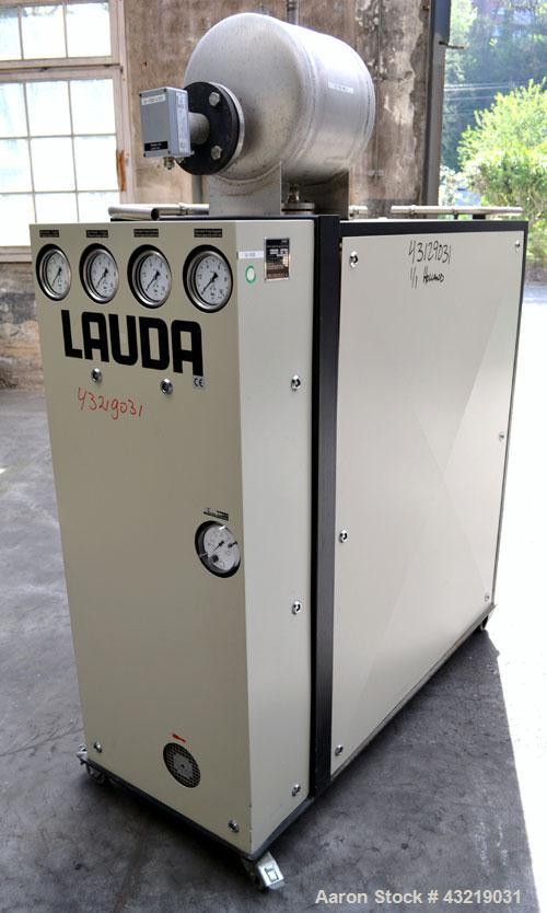 Used- Lauda 6 kW Secondary Circle Unit Cooler, Type TR400KEX. Temperature range 5 to 30 degrees C. (41 to 86 F.). 3/50/400 v...