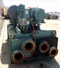 Used- York Millennium Rotary Screw Liquid Chilling System, Approximate 350 Ton, Model YS-DB-DA-S2-CJE. Refirg. designed work...