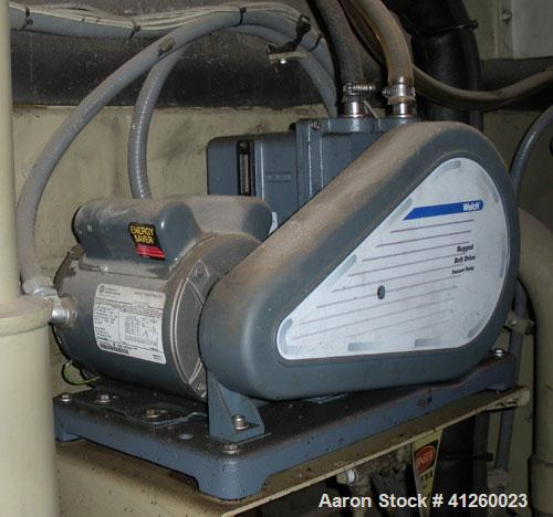 Used-Trane Chiller, 700 Ton, Model ABSD700. Single stage steam fired absorption type. Max inlet 14 psig, 460V, 60 Hz, 3 Ph, ...