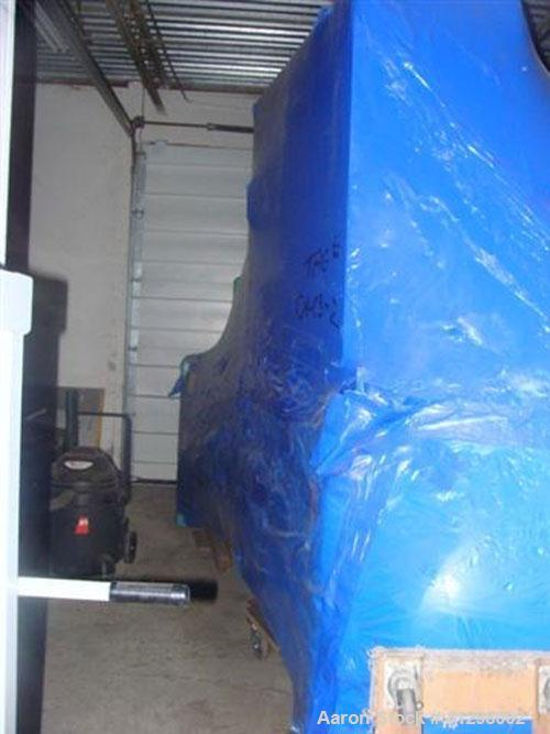 Used-Unused- Trane Chiller, Model YKEREPQ0-CSG, 525 Tons (6,300,000 Btu/hr). Features: centrifugal compressor, variable spee...