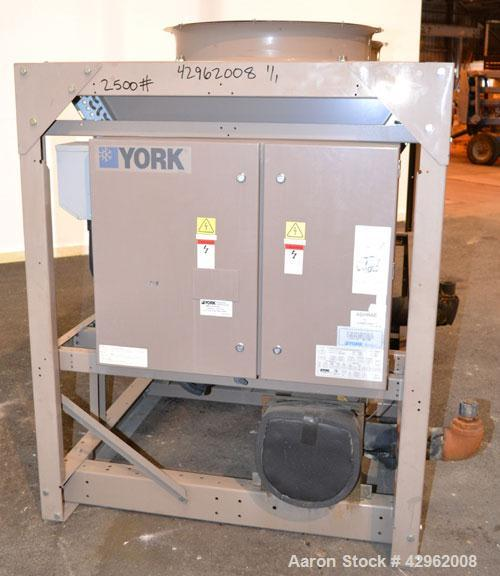 Used- York Hermetic Scroll Air-Cooled Outdoor Use Liquid Chiller. Nominal capacity 14 tons. Model YCAL0014EC17XCA. High effi...