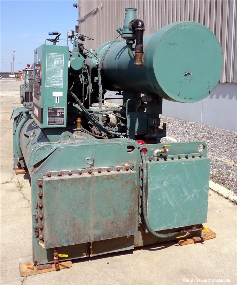 Used- York Codepack Rotary Screw Liquid Chilling System, Model YS-DB-DA-S2-CHA