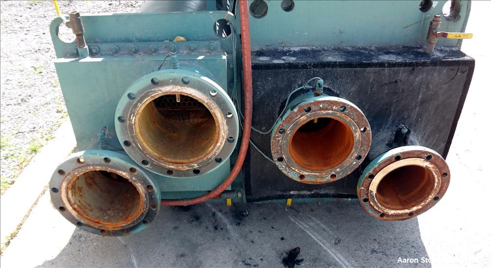 Used- York Millennium Rotary Screw Liquid Chilling System, Approximate 350 Ton, Model YS-DB-DA-S2-CJE. Refirg. designed work...