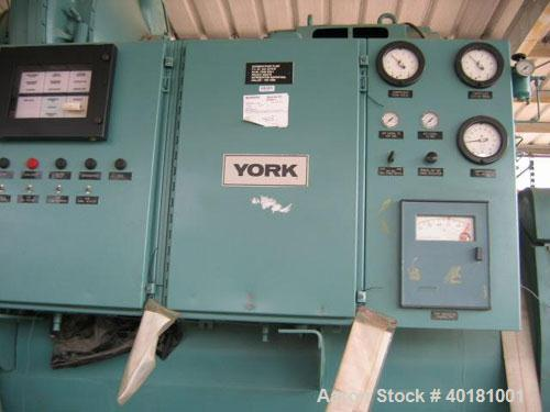 Unused-Unused: York 700 ton chiller, model YT-L6-F1-IM-E-S, size 3-Y-48, type MNT-2-BCB, R-11. 460 volt, 3 phase, 60 hz and ...