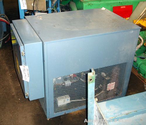 Used- AEC Chiller, Model ANC-3Q. Approximate 3 ton capacity. 20 deg F min temp range, R-22 refrigerant, water cooled. 460 vo...